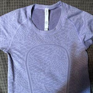 Lululemom athletic lilac tshirt